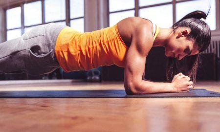 Планк - упражнение за отслабване за вкъщи без уреди